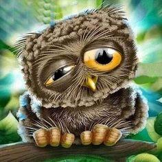 Diamond Drawing, 5d Diamond Painting, Diamond Art, Cross Stitch Owl, Cross Stitch Kits, Owl Mosaic, Mosaic Wall, Funny Owls, Owl Pictures