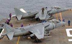 EUA vai prologar vida do Harrier por mais 10 anos - Airway
