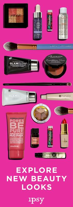 Love trying new products? Join ipsy! For just $10/month you get 5 best-selling, cult fave products handpicked just for you, plus hot beauty tips and tricks from our pros and exclusive access to monthly giveaways!