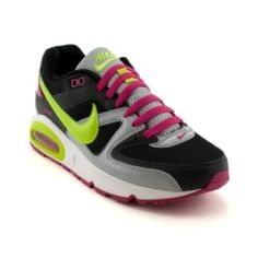 Womens Nike Air Max Command Athletic Shoe, Blue/Gray/Volt, at Journeys Shoes