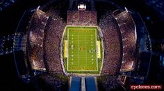 Student Tickets For Football Sold Out - Iowa State University Athletics Knitting Machine Patterns, Iowa State Cyclones, State University, Athlete, Football, Alabama, Paradise, Student, Night