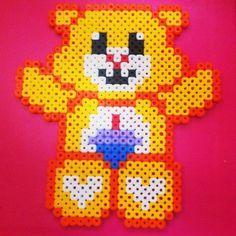 Care Bear perler beads by xaroojex