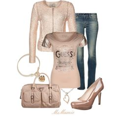 """""""Guess"""" by mzmamie on Polyvore"""