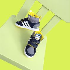 adidasNEO Hoops Animal Mid Sneaker Adidas, Sandals, Sneakers, Shoes, Fashion, Fashion Styles, Guys, Children, Tennis