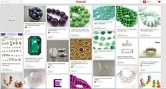 Tips for online bead shopping: Make a secret Pinterest board! We like to keep our bead options private until we commit to a design — also, if we're making a gift, we don't want the person to find out what we've got in mind! Get more tips for bead shopping online at BeadStyleMag.com.