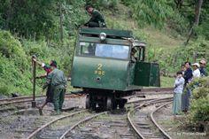 Wickham trolley PRC 2 taking water @ Lopah station