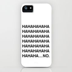 HAHA iPhone & iPod Case by Good Sense - $35.00