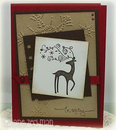 dasher by cookiestamper - Cards and Paper Crafts at Splitcoaststampers