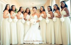 Beautiful Bride and Bridesmaids captured by,  Kima Golden of The Sweetest Things to Remember Photography!!