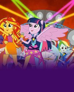 Película Rainbow Rocks | Rainbow Rocks | Películas Equestria Girls