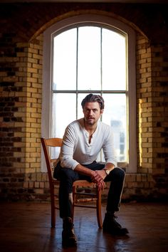 Aaron Tveit - Paul Rogers Photoshoot 2014 for The Times