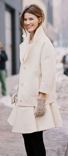 Hanneli Mustaparta Image Via: Vanessa Jackman | Fashion - Street Style | Pinterest | Vanessa Jackman, Aw 2014 and New York Fashion