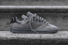 adidas originals stan smith charcoal suede