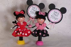 Minnie Mouse  Clothespin Doll by creatingfromtheheart on Etsy, $30.00 by kelly.meli