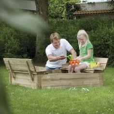 Zandbakken voor Kinderen   WoodVision Zandbak - Kinderzandbak Tom – JouwSpeeltuin Outdoor Furniture Sets, Outdoor Decor, Toms