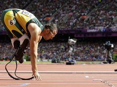 Pistorius soma quatro medalhas de ouro em Paralimpíadas, sendo uma em Atenas 2004 e três em Pequim 2008  Foto: AP