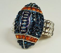 Hey, I found this really awesome Etsy listing at https://www.etsy.com/listing/203080122/denver-broncos-ring-rhinestone-football