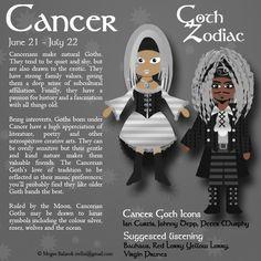 goth zodiac - Google Search