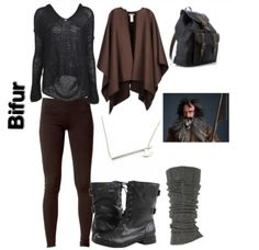 the hobbit inspired outfit ~ bifur