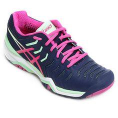 tenis asics outubro rosa