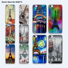 Paris Eiffel Tower series painting design hard clear phone Case for Xiaomi mi 5s 5 5sPlus 4 4c 4s redmi note 4 3 //Price: $7.94 & FREE Shipping //     #hashtag2