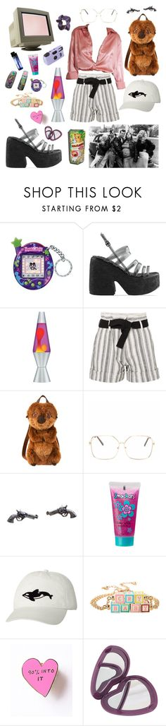 """""""Années 90 💚"""" by marie0-0 ❤ liked on Polyvore featuring Pieces, Jeffrey Campbell, Vanessa Bruno, Disney Pixar Finding Dory, Bonne Bell, Orca, Hot Topic, Valley Cruise Press, 90 and sodtgrungestyle"""