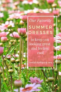 Our Favorite Summer Dresses - Look awesome & stay cool all summer with these cute & comfy summer dresses!  #dresses #fashion