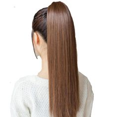 FB Tie on Ponytail Hair Extension Tail Hairpiece Straight Synthetic Women's Hair#Hair#Extension#Ponytail