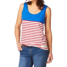 Joules Maria Top - Seablue | Free UK Delivery on All Orders