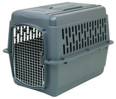 Petmate Pet Porter 2 Kennel, For Pets 30 to 50 Pounds , Dark Gray - http://www.thepuppy.org/petmate-pet-porter-2-kennel-for-pets-30-to-50-pounds-dark-gray/
