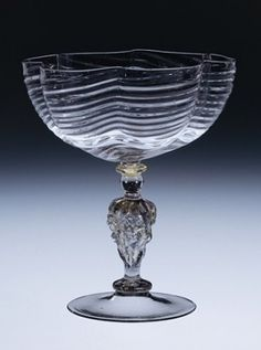 Goblet, about 1550-1600 | Corning Museum of Glass #glass #Baroque #goblet