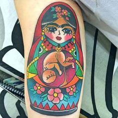 tatuagem catrina frida - Pesquisa Google