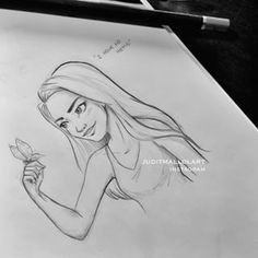 Instagram photo by juditmallolart - The warrior princess- #OctaviaBlake #The100