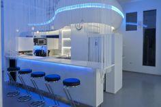 Bar und Küche LED Lichter www.artwerkstudios.at