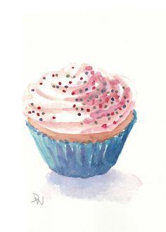 Cupcake Alegria da Criançada! Ah, e dos adultos também!!! (rsrsrsrs) DC