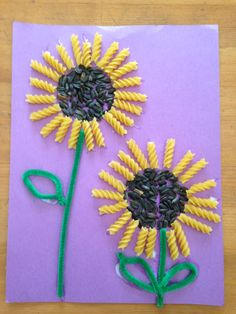 50 Awesome Spring Crafts for Kids Ideas - Madie U. - 50 Awesome Spring Crafts for Kids Ideas – - Crafts For Kids To Make, Easy Crafts, Kids Diy, Decor Crafts, Creative Crafts, Seed Art For Kids, Creative Art, 5 Min Crafts, Creative Ideas
