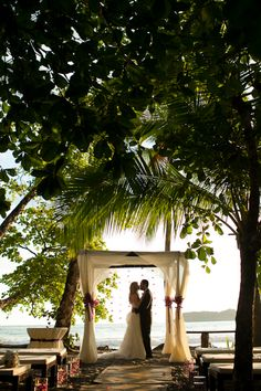 Beach wedding aisle - who wouldn't want to get married there?