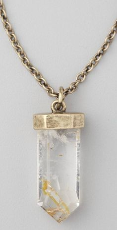 MADEWELL - Crystal Pendant Necklace