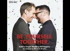 Target Releases Same-Sex Wedding Registry Ad