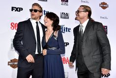 """Charlie Hunnam Photos: Premiere Screening Of FX's """"Sons Of Anarchy"""" - Red Carpet 9/6/14"""