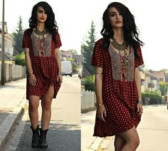 Tessa Diamondly - Forever 21 Babydoll Dress - Take a ride on the wild side.