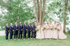 Lakefront Summer Wedding | New Hampshire Weddings | Caitlin Page Photography | Classic Church Landing Wedding on Lake Winnipesaukee, Meredith New Hampshire Wedding Venue. Get more inspiration from this blue Bridesmaids, Bridesmaid Dresses, Groomsmen Suits, Summer Weddings, Outdoor Ceremony, New Hampshire, Getting Married, Landing, Wedding Venues