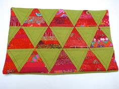 Coussin string quilt