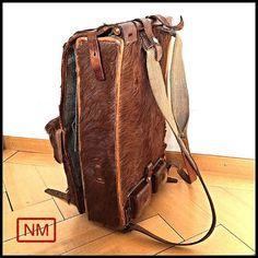 Vintage Swiss Army Backpack or Rucksack Fur by NaturaMachinata, $142.00