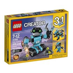 Robo Explorer stands over tall. Robot dog stands over tall. Robot bird stands over tall. Lego Creator Sets, The Creator, Robot Bird, Robot Lego, Robots, Toys R Us, Kids Toys, Light Brick, Scouts