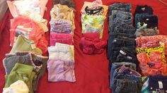 Girls Mixed Lot 32 Pieces, Pants, Tops, Dresses, Sizes 4T-6X, Multicolor, Solids #MixedBrands #Everyday #clothing #fashion #girls #tops #bottoms #girlsfashion #mixed