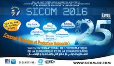 Le SICOM 2016 du 14 au 18 Avril 2016 au Palais des Expositions Pins Maritimes Alger