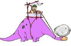 fred flintstone dinossauro - Pesquisa Google