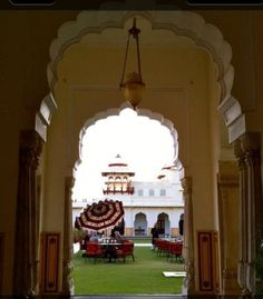 Rambagh Palace, Jaipur. How beautiful!