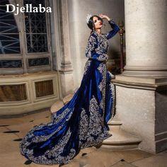 Applications, Formal Dresses, Fashion, Blue Velvet, Evening Dresses, Saudi Arabia, Caftan Marocain, Beads, Dress Ideas